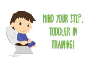 Toddler in Training