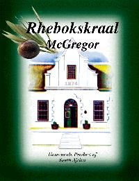 Rhebokskraal Olive Estate, Olives, McGregor, Western Cape