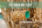 Quick and Easy Garden Bird Feeder for Toddlers